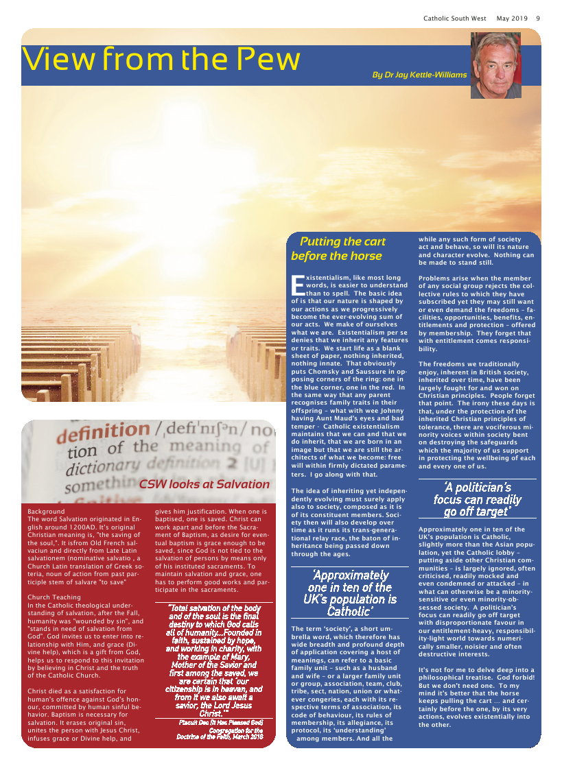 May 2019 edition of the Catholic South West - Page