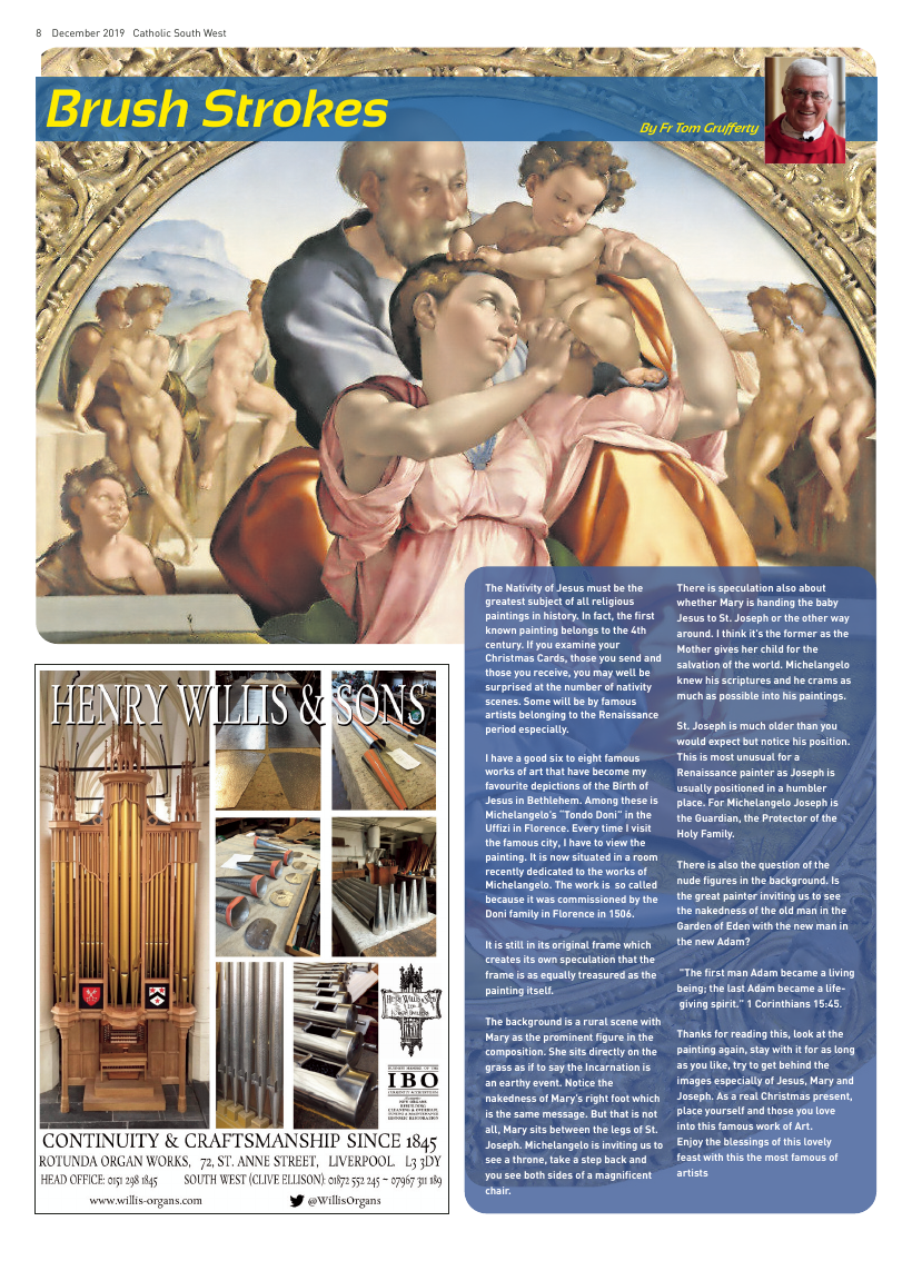 Dec 2019 edition of the Catholic South West - Page
