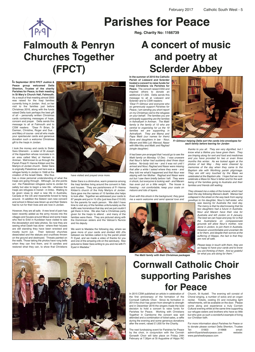 Feb 2017 edition of the Catholic South West - Page