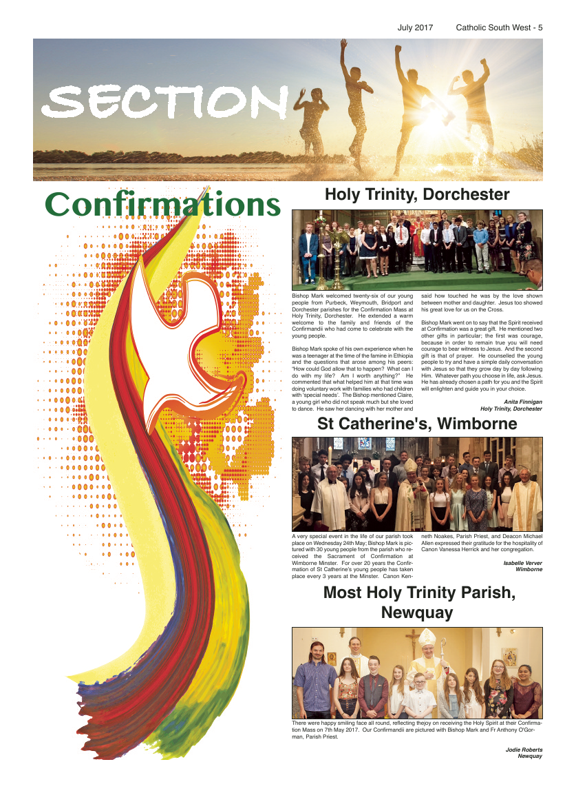 Jul 2017 edition of the Catholic South West - Page