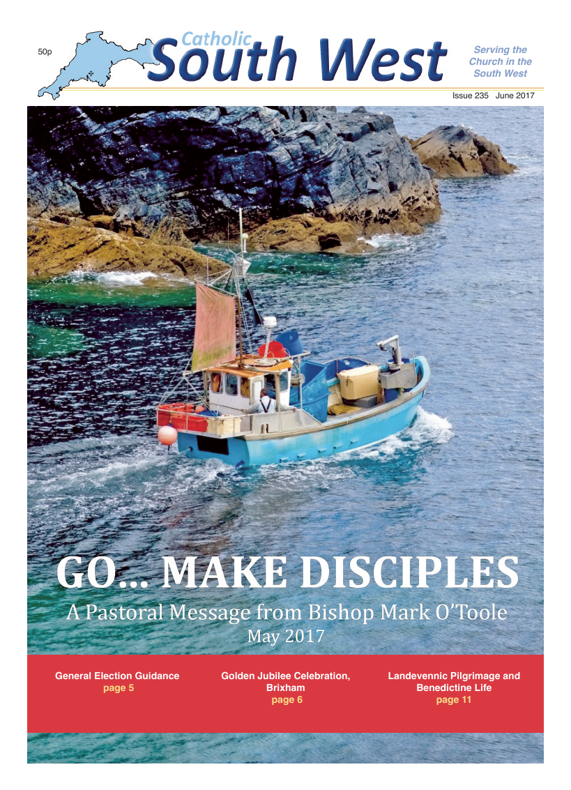 Jun 2017 edition of the Catholic South West - Page