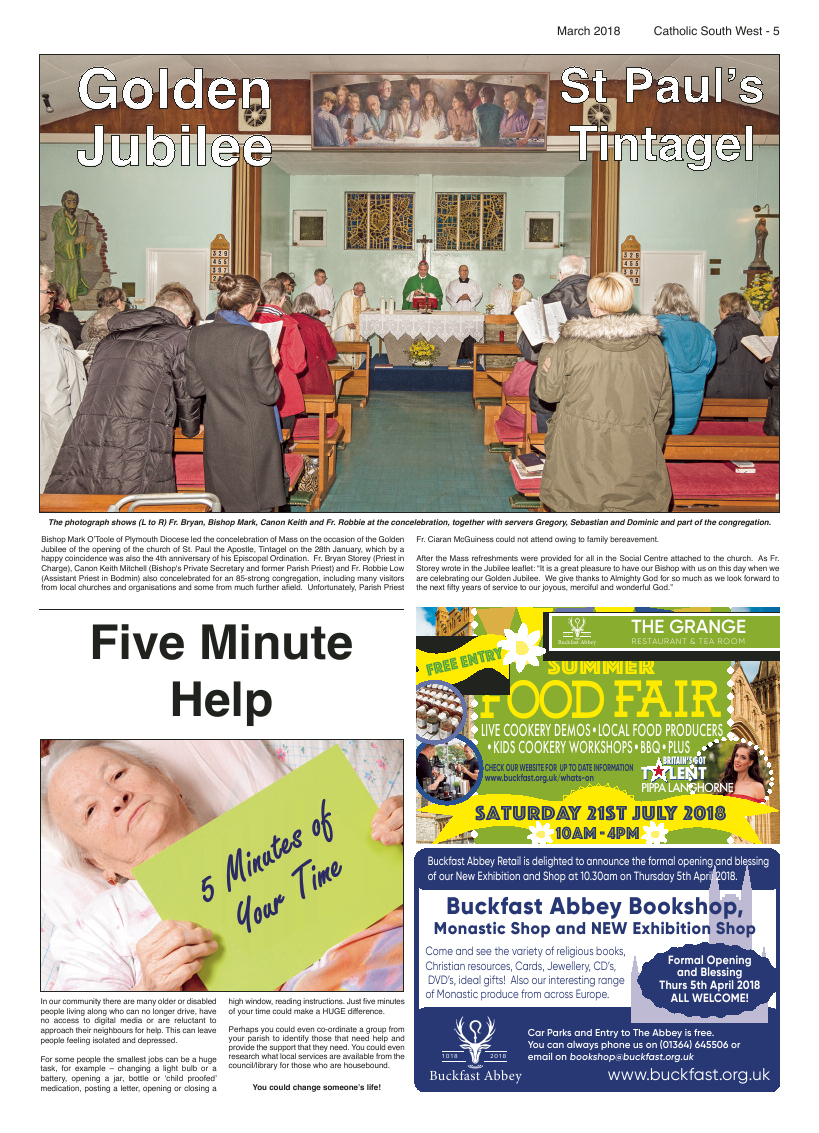Mar 2018 edition of the Catholic South West - Page