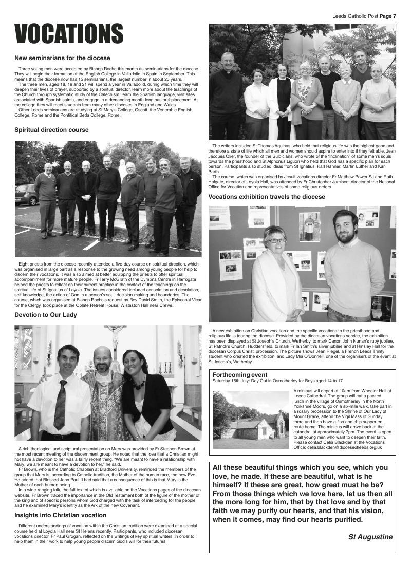 Jun 2011 edition of the Leeds Catholic Post