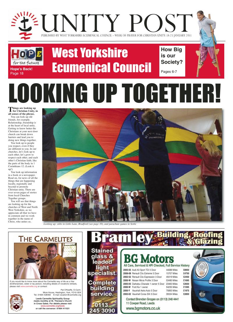 Nov 2011 edition of the Leeds Catholic Post