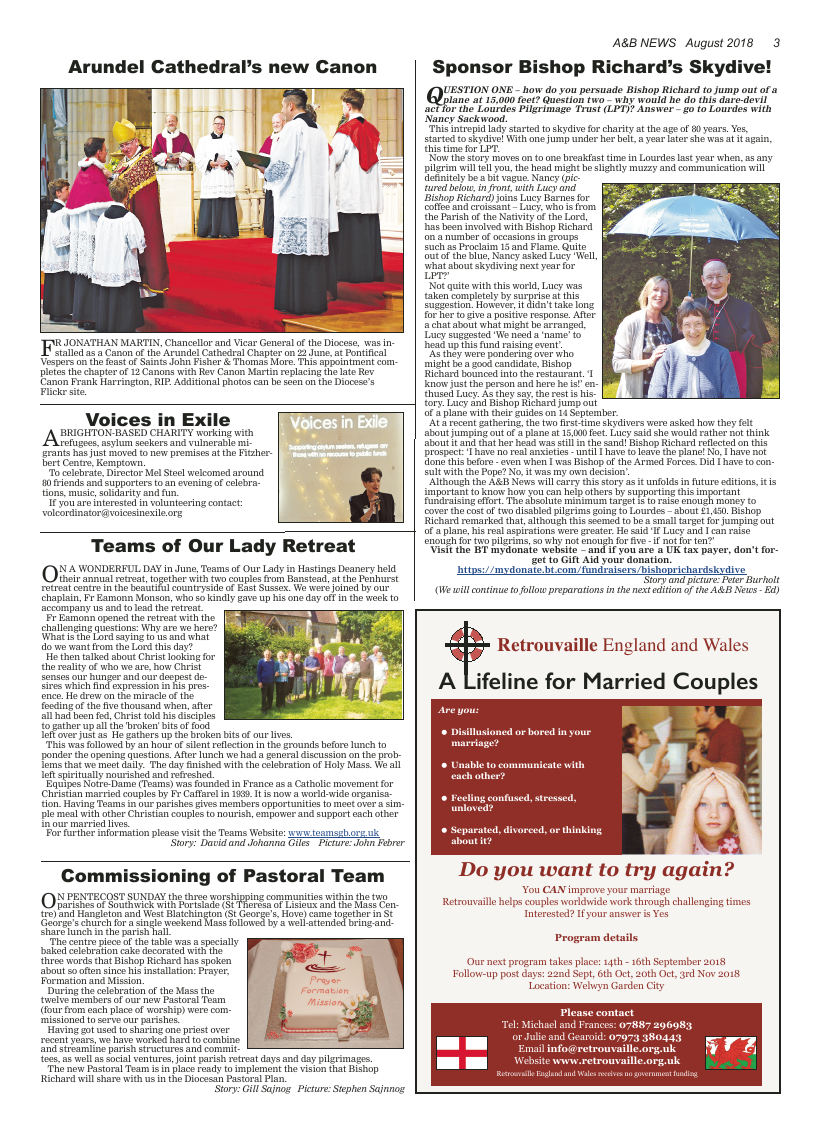 Aug 2018 edition of the A&B News - Page