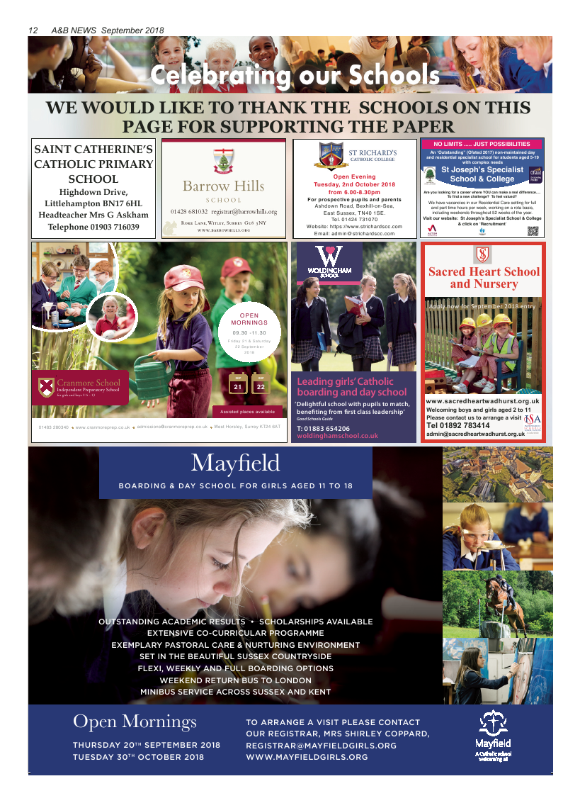 Sept 2018 edition of the A&B News - Page