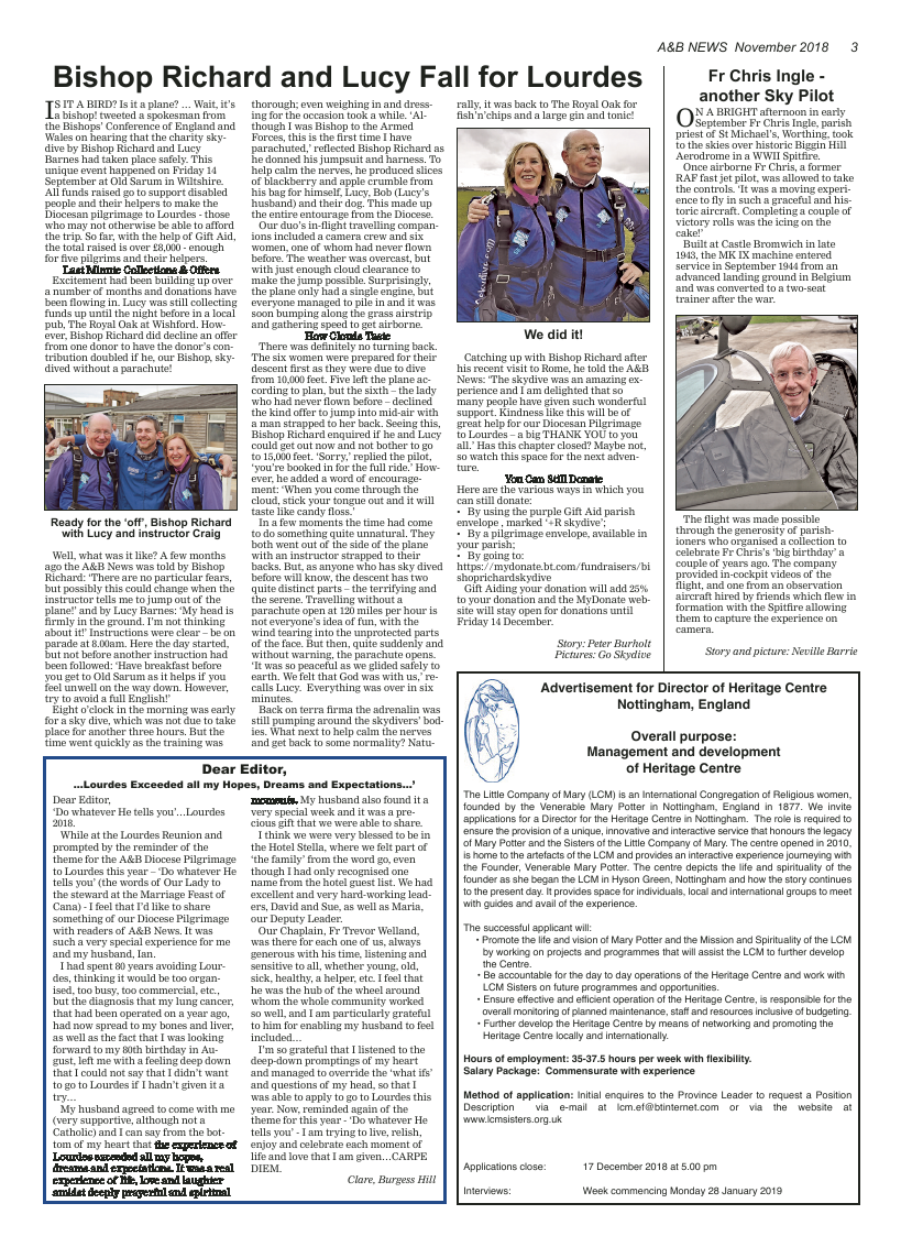 Nov 2018 edition of the A&B News - Page