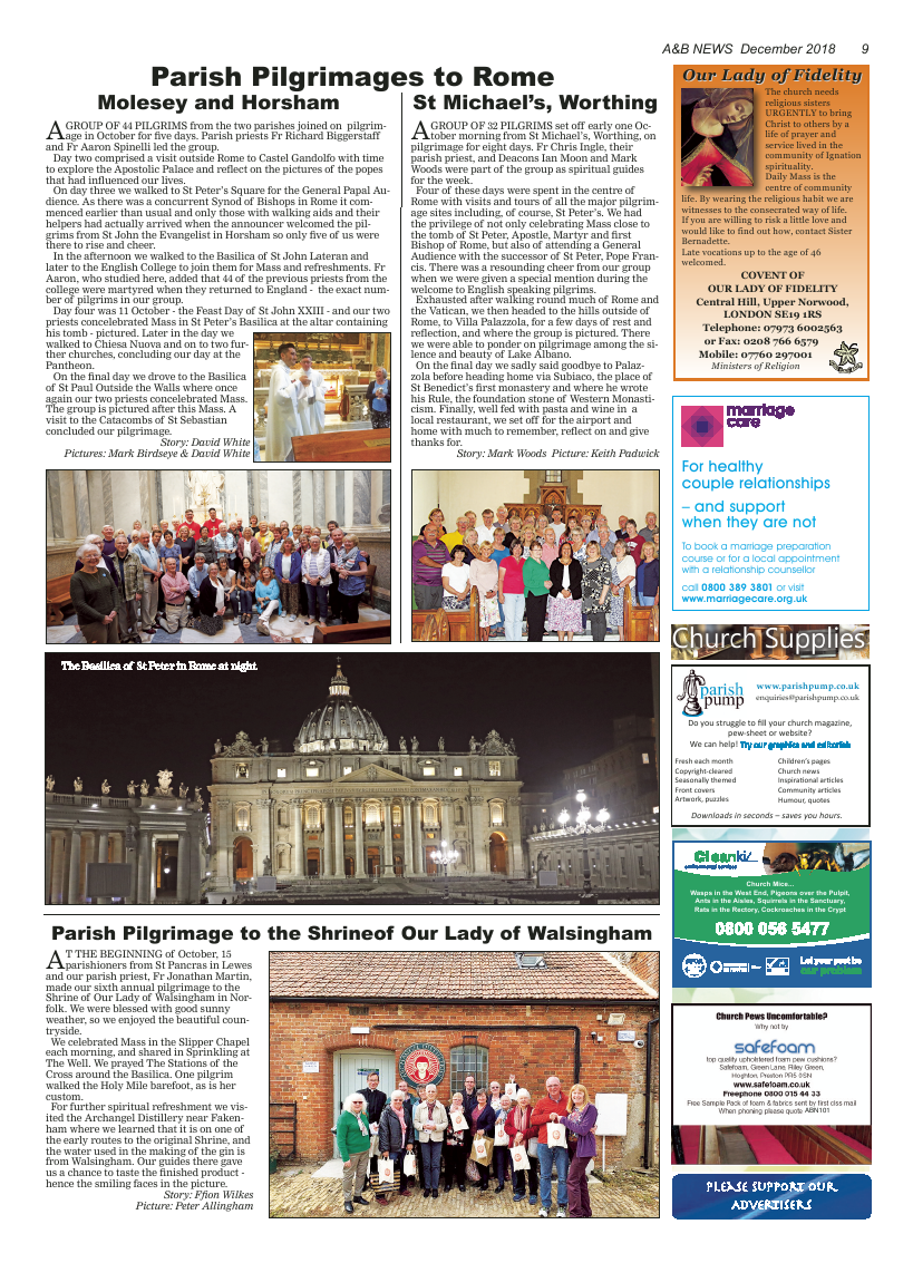 Dec 2018 edition of the A&B News - Page