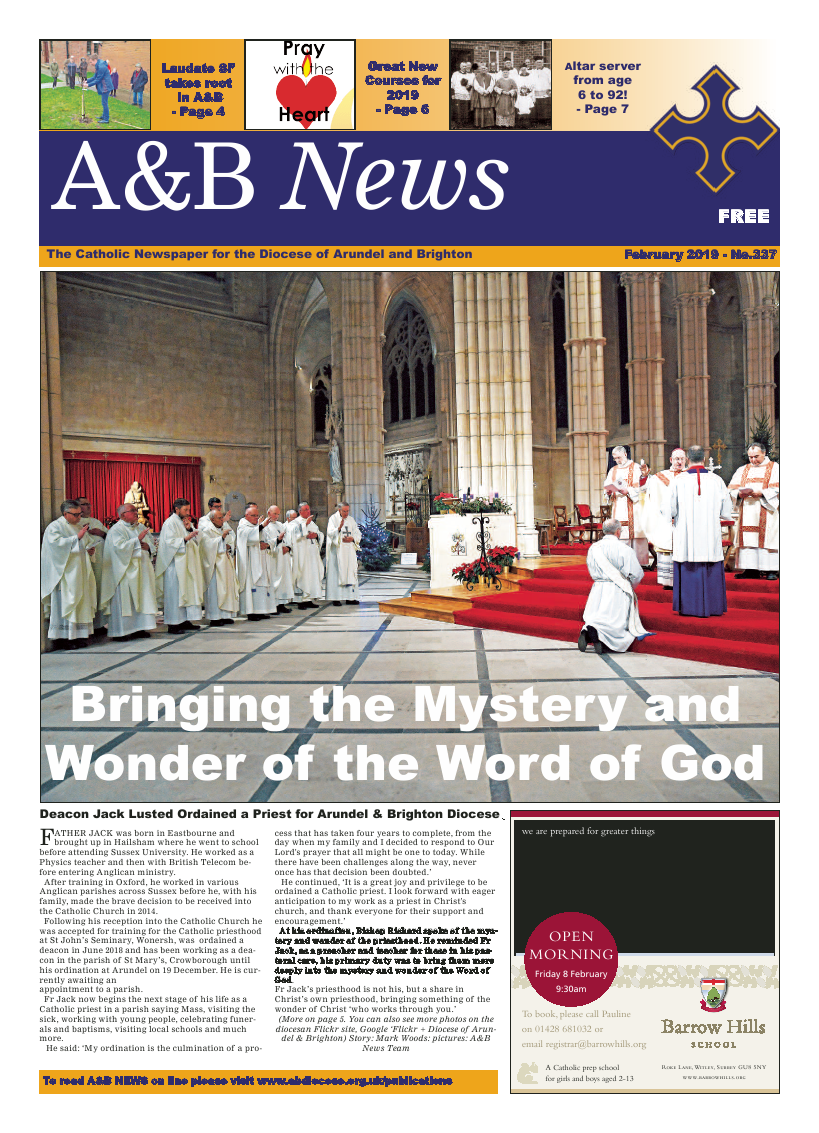 Feb 2019 edition of the A&B News - Page
