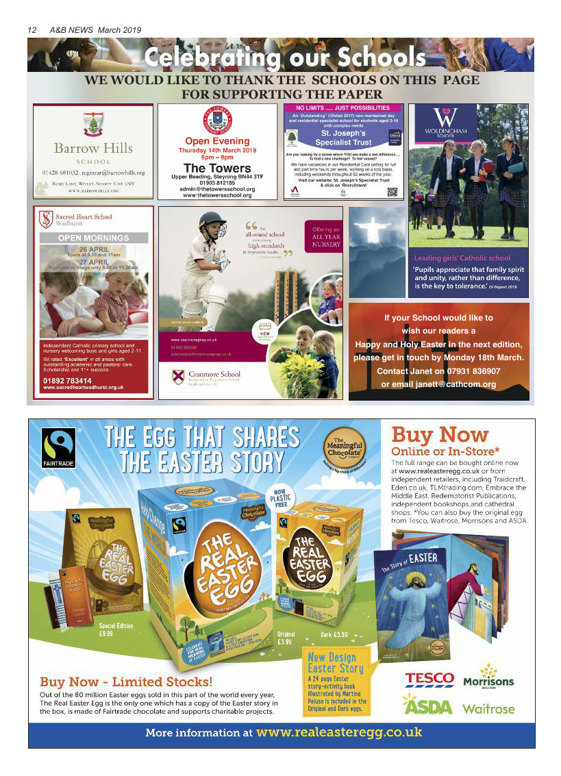 Mar 2019 edition of the A&B News - Page