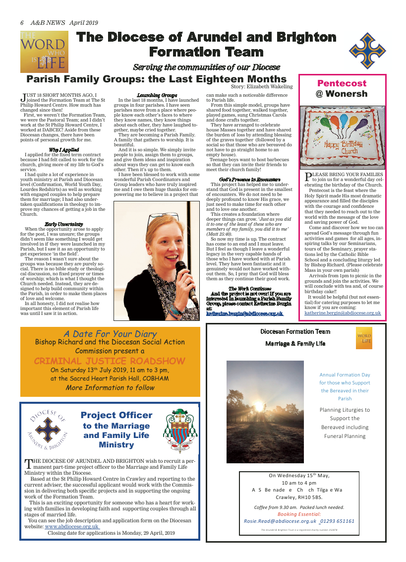 Apr 2019 edition of the A&B News - Page