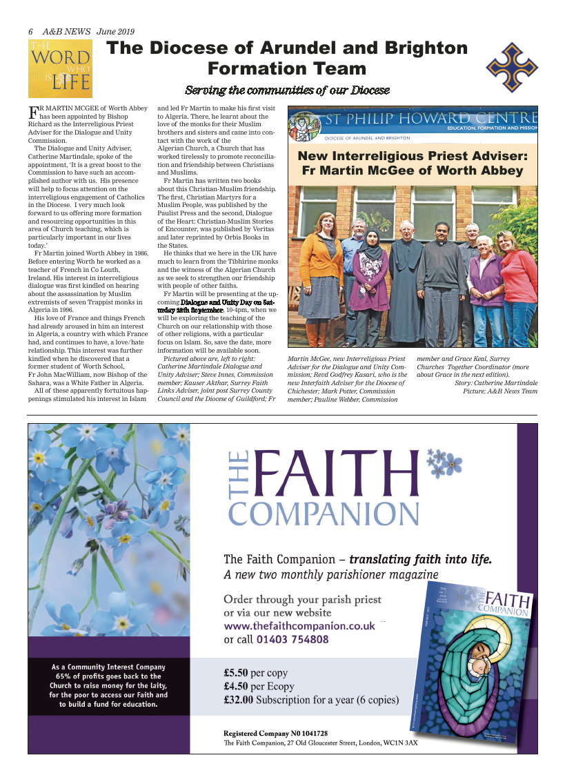 Jun 2019 edition of the A&B News - Page
