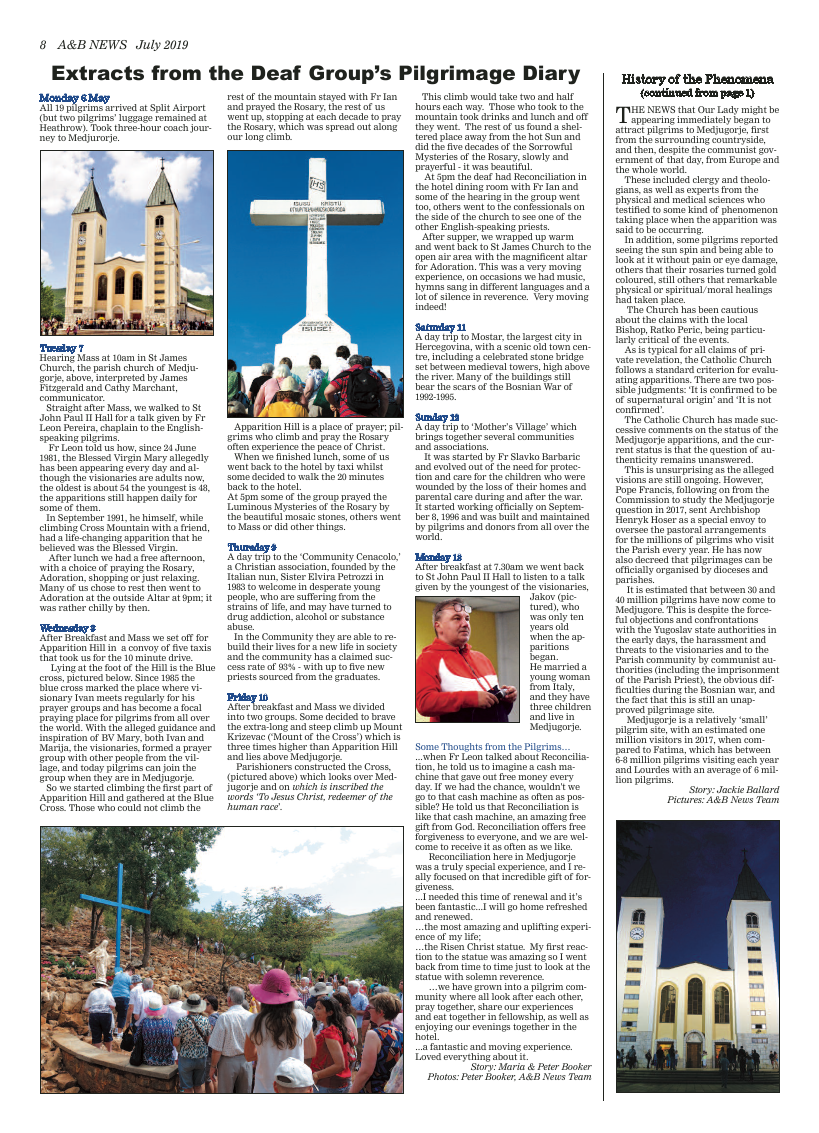 Jul 2019 edition of the A&B News - Page