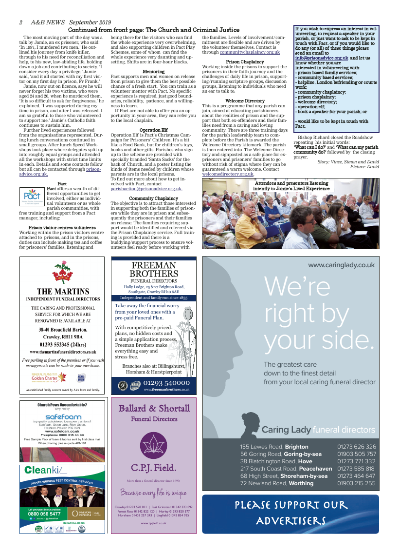 Sept 2019 edition of the A&B News - Page