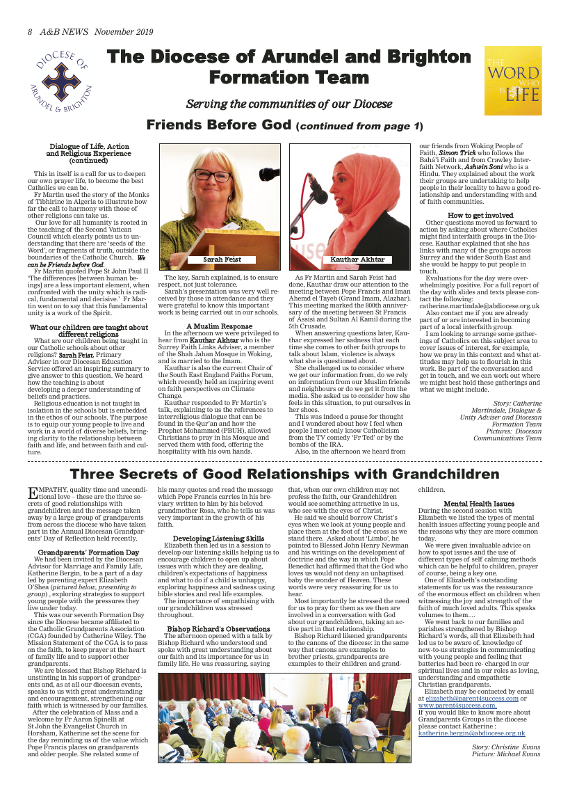Nov 2019 edition of the A&B News - Page
