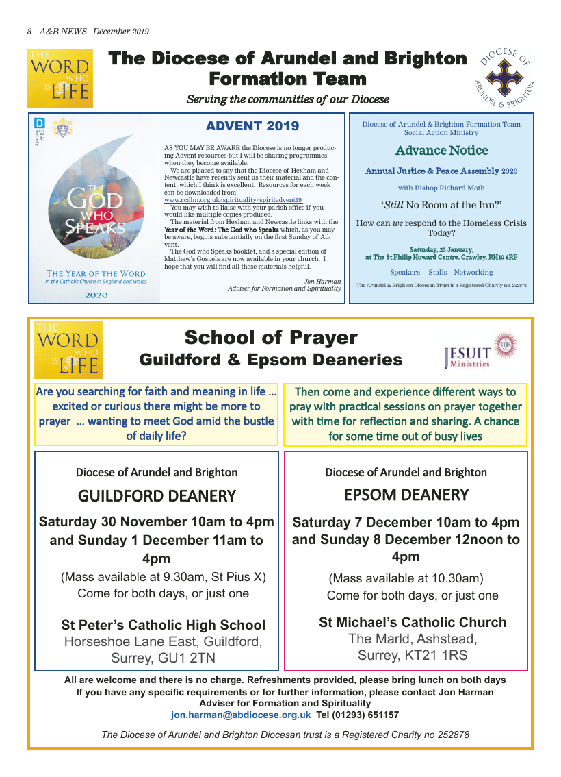 Dec 2019 edition of the A&B News - Page