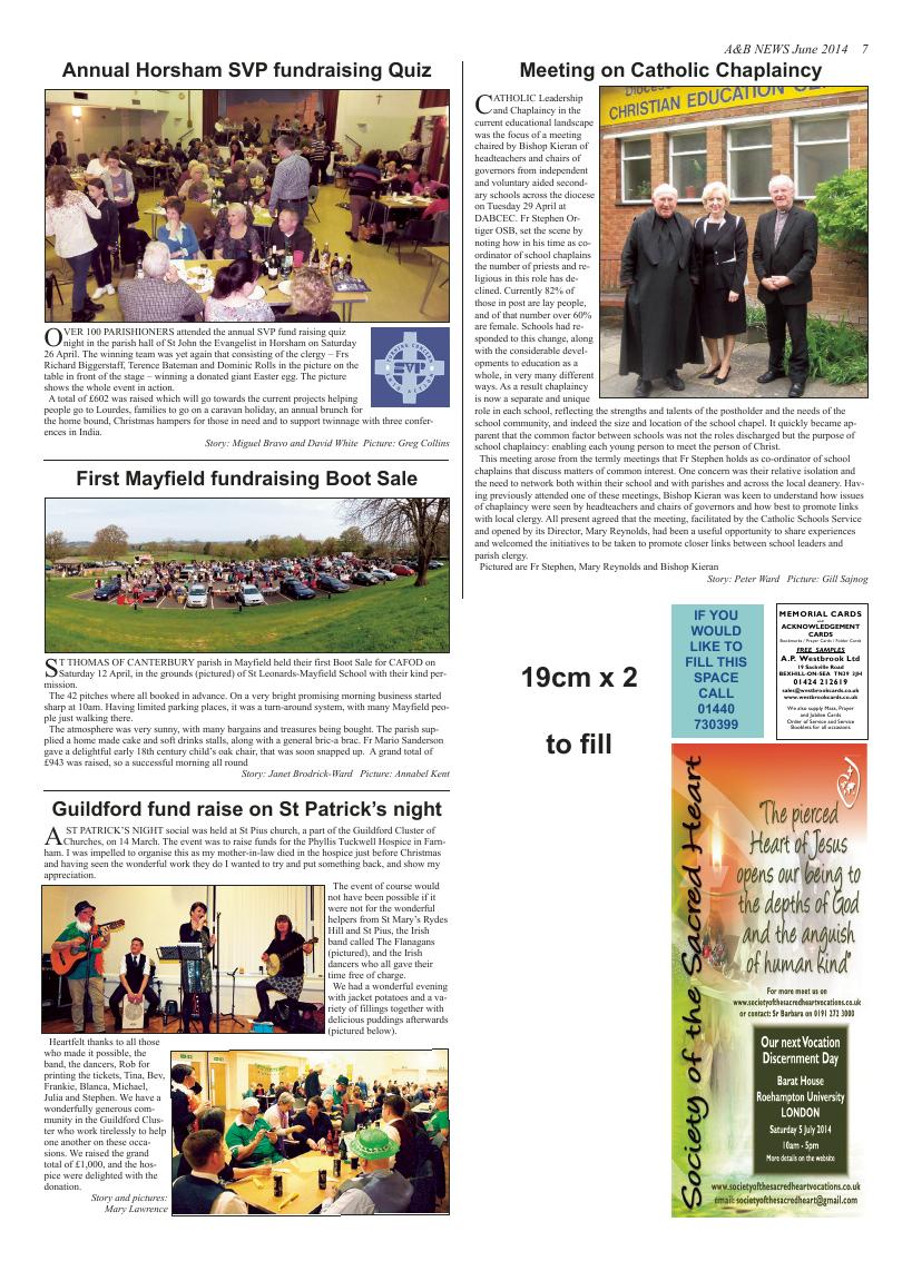 Jun 2014 edition of the A & B News