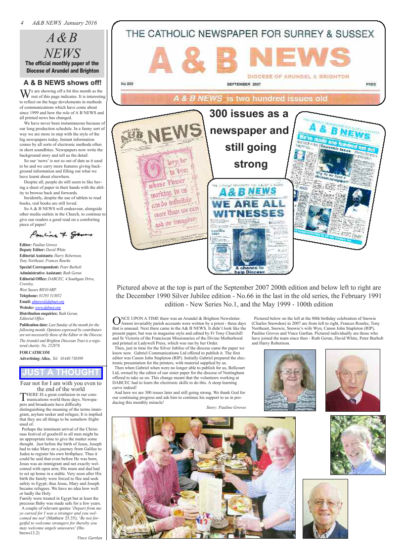 Jan 2016 edition of the A & B News - Page