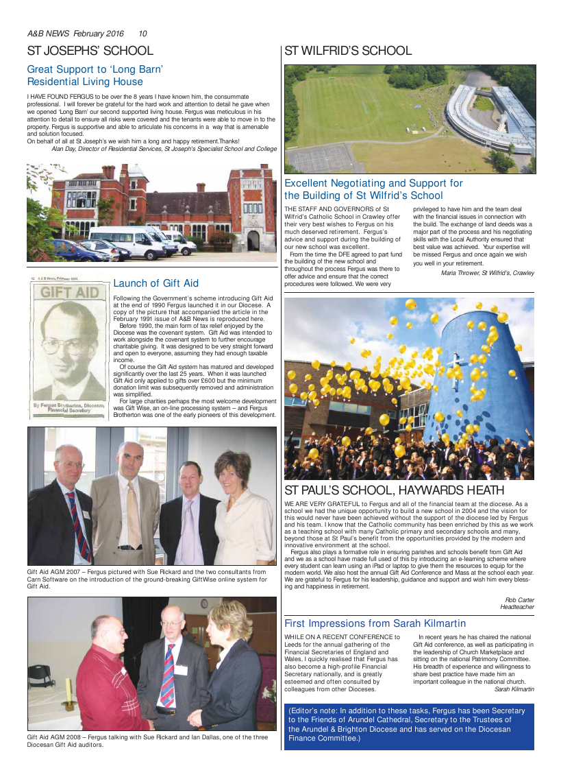 Feb 2016 edition of the A & B News - Page