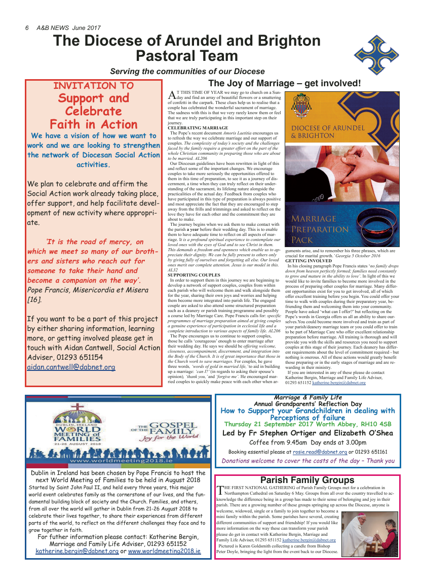 Jun 2017 edition of the A&B News - Page