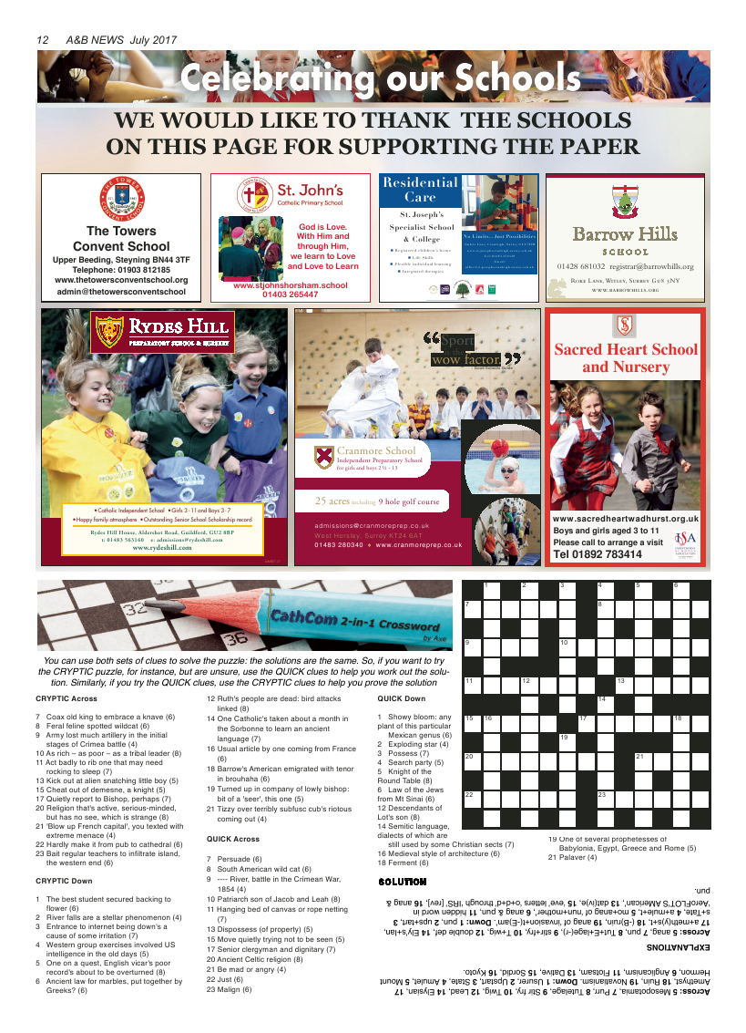 Jul 2017 edition of the A&B News - Page