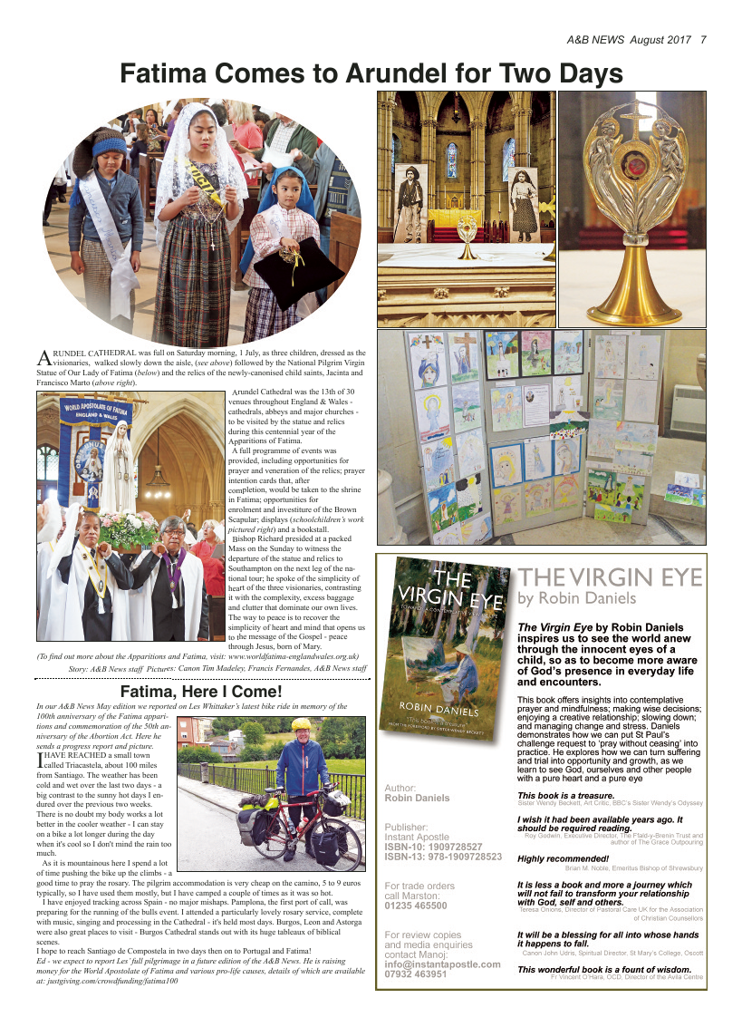 Aug 2017 edition of the A&B News - Page
