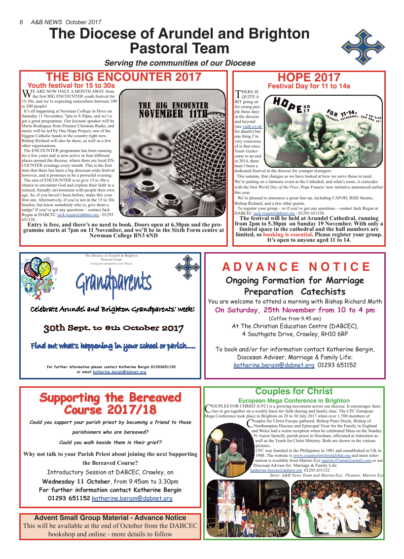 Oct 2017 edition of the A&B News - Page
