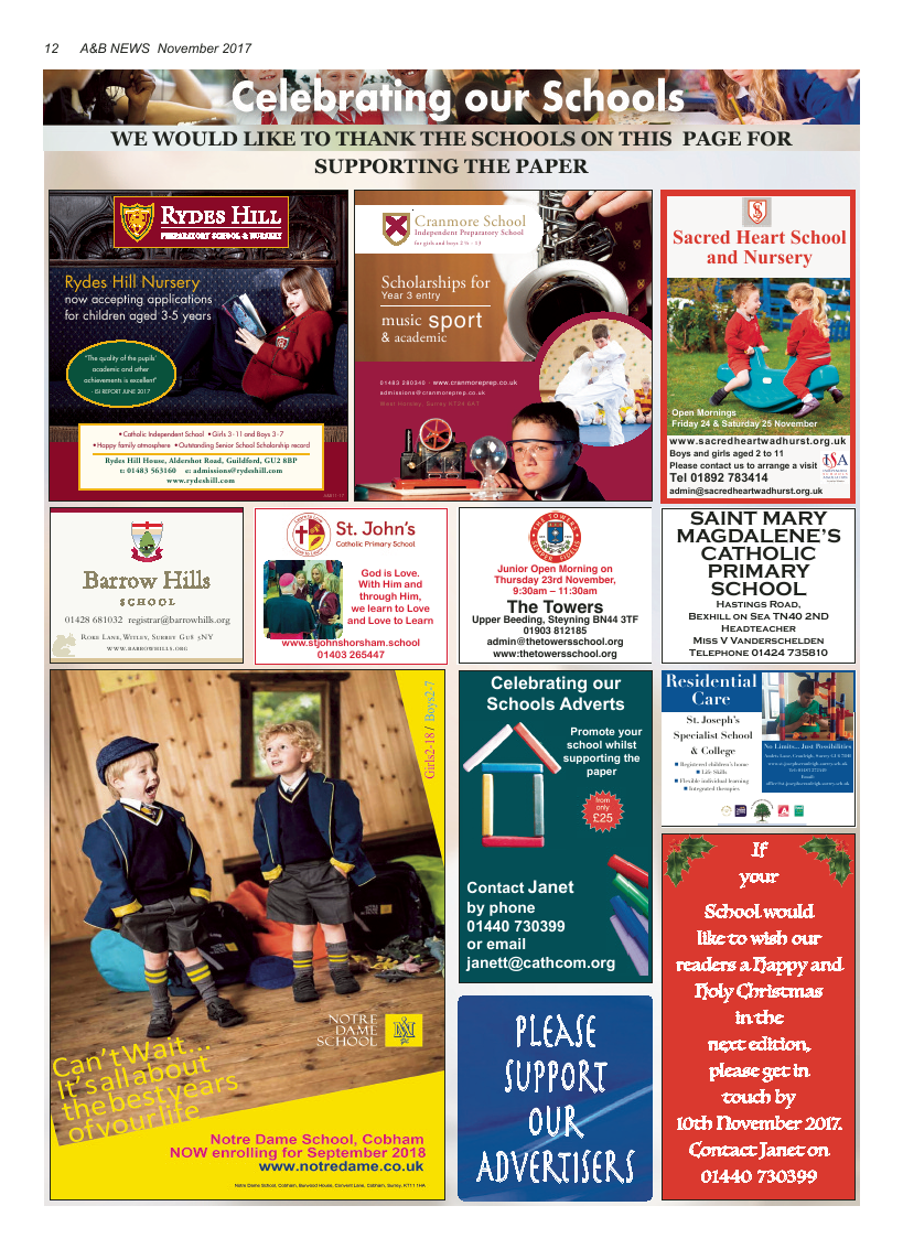 Nov 2017 edition of the A&B News - Page
