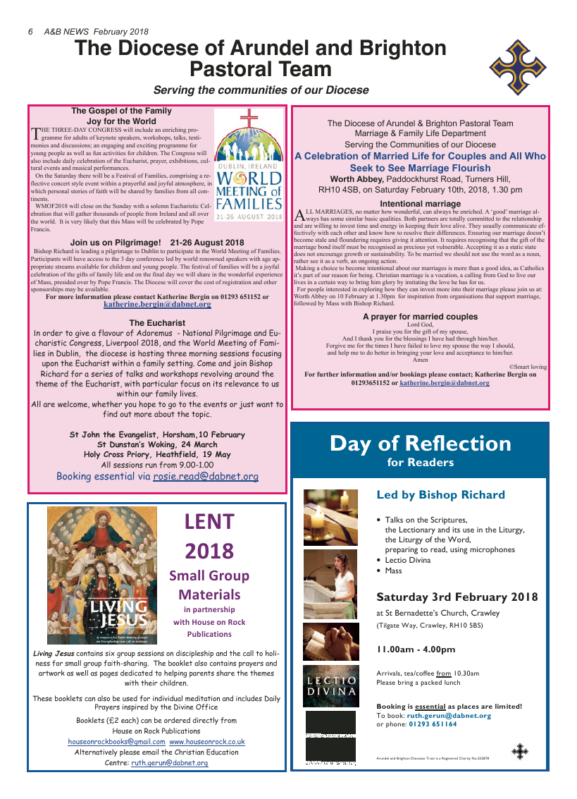 Feb 2018 edition of the A&B News - Page