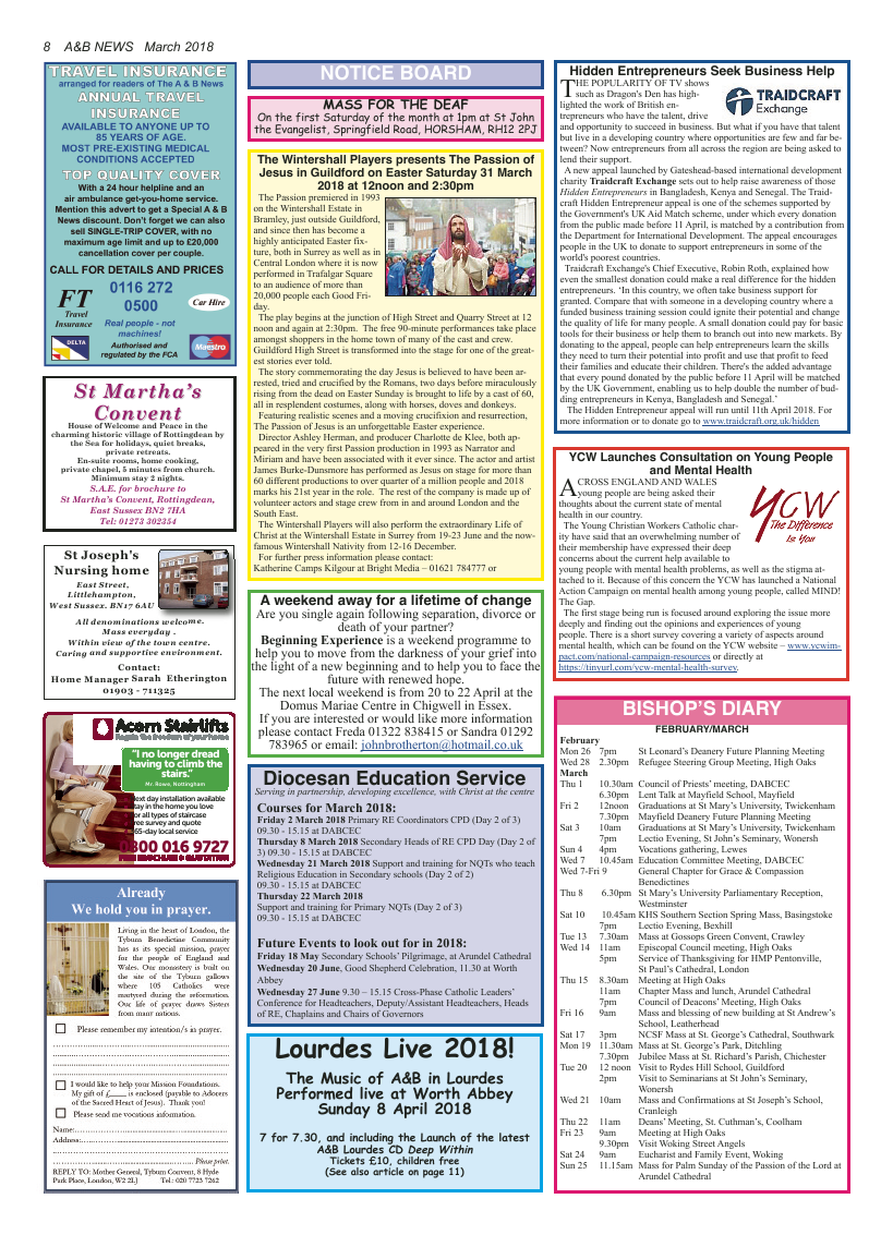 Mar 2018 edition of the A&B News - Page