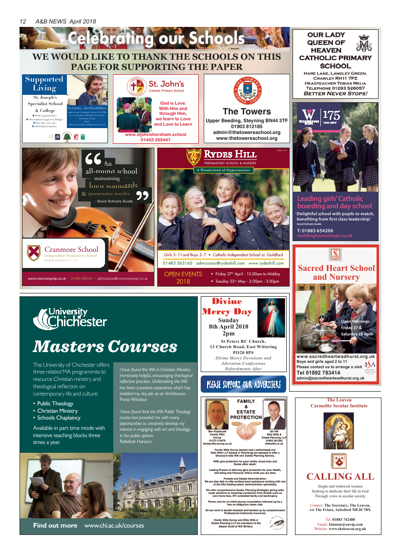 Apr 2018 edition of the A&B News - Page