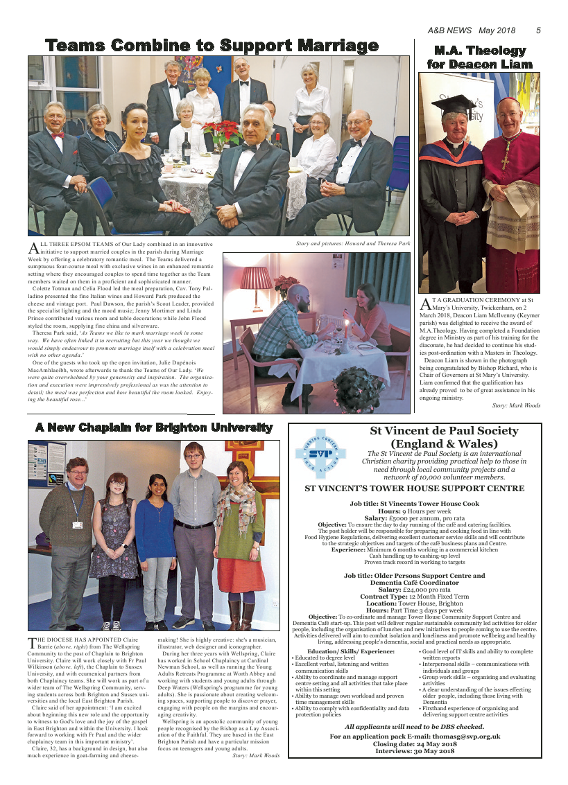 May 2018 edition of the A&B News - Page
