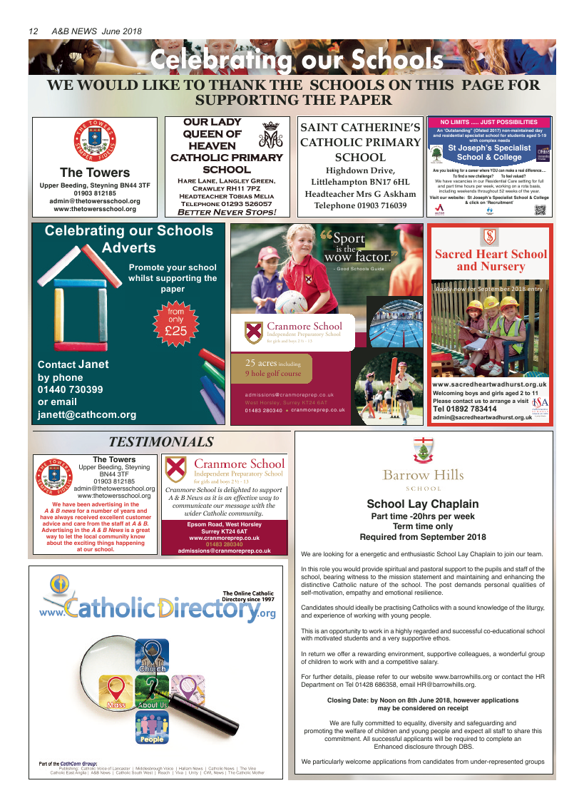 Jun 2018 edition of the A&B News - Page