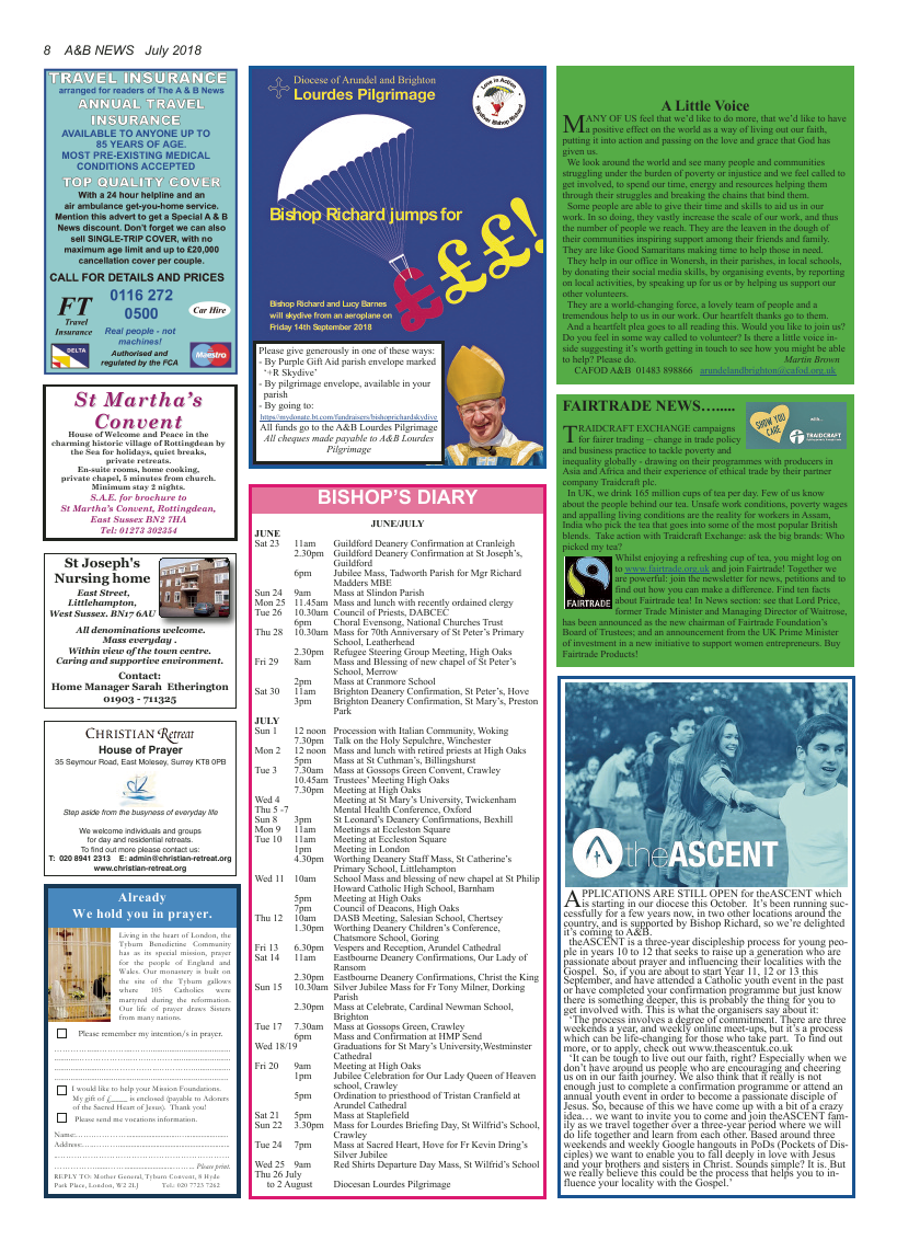 Jul 2018 edition of the A&B News - Page