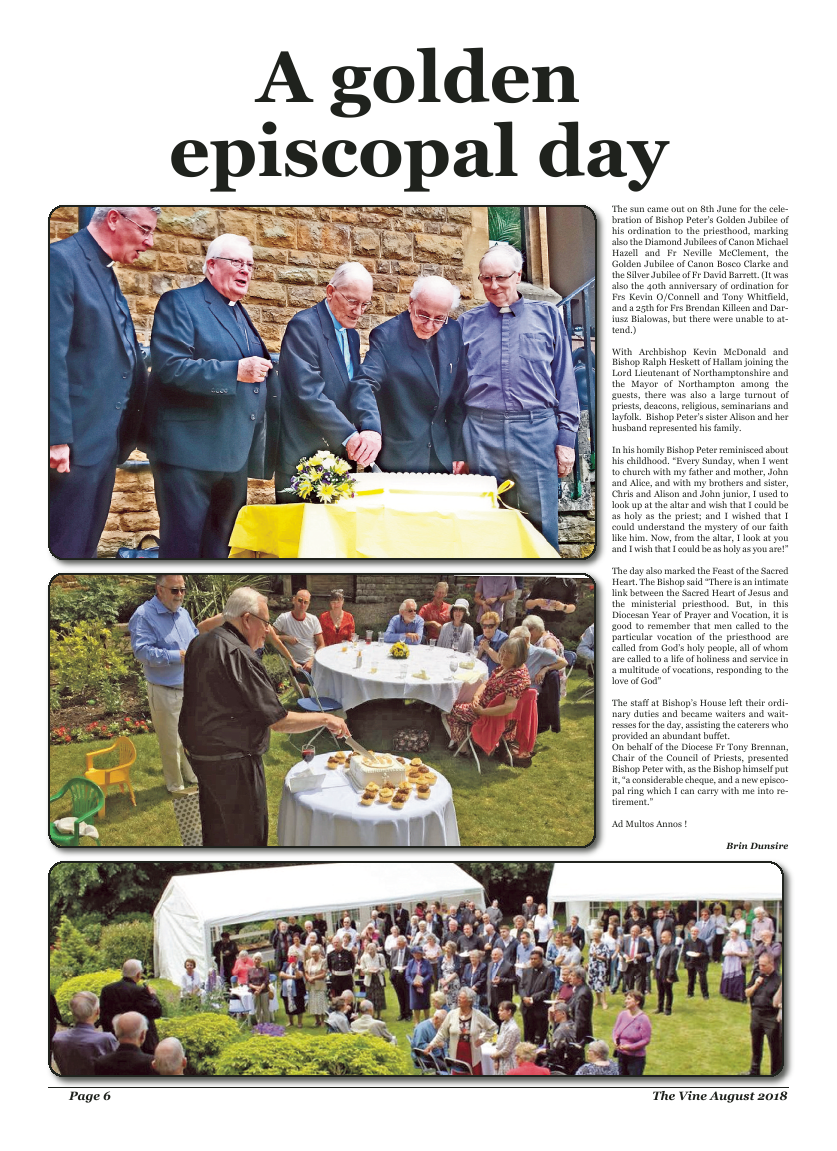 Aug 2018 edition of the The Vine - Northampton - Page