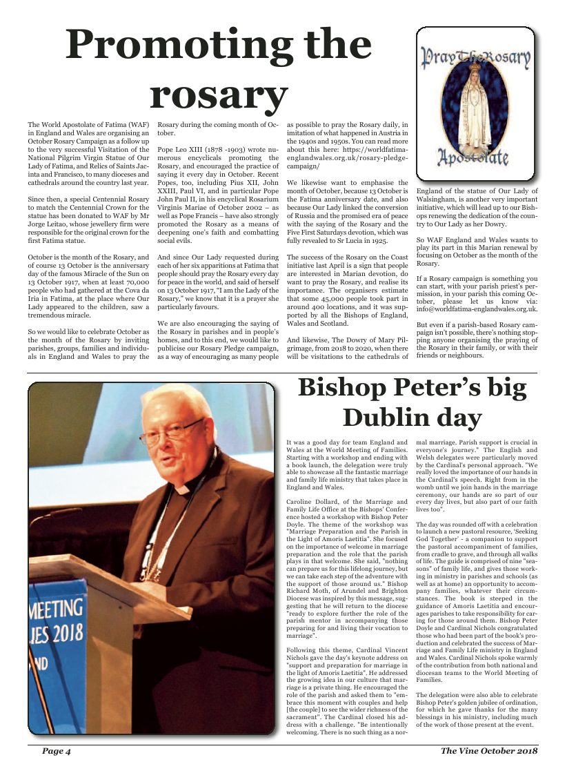 Oct 2018 edition of the The Vine - Northampton - Page