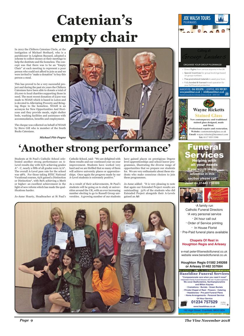 Nov 2018 edition of the The Vine - Northampton - Page