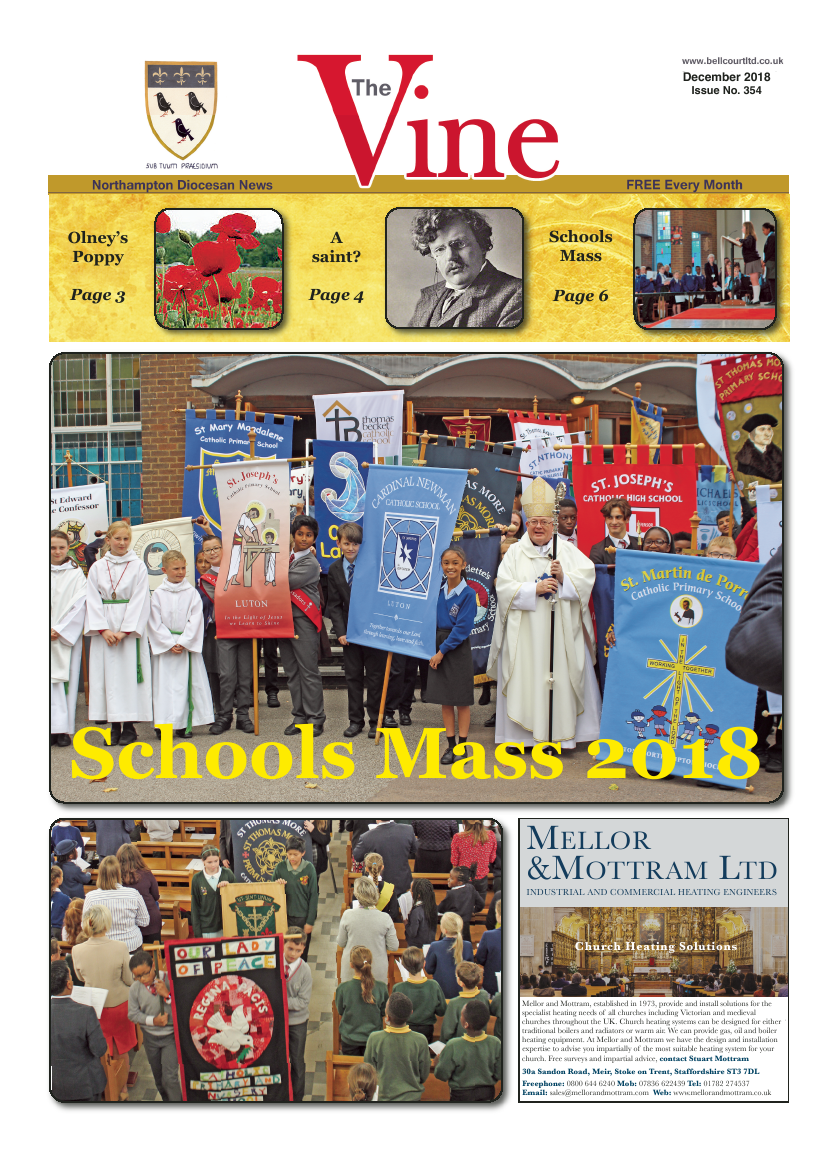 Dec 2018 edition of the The Vine - Northampton - Page