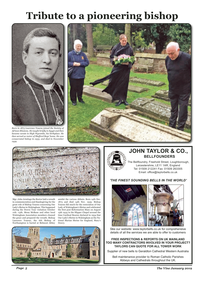 Jan 2019 edition of the The Vine - Northampton - Page