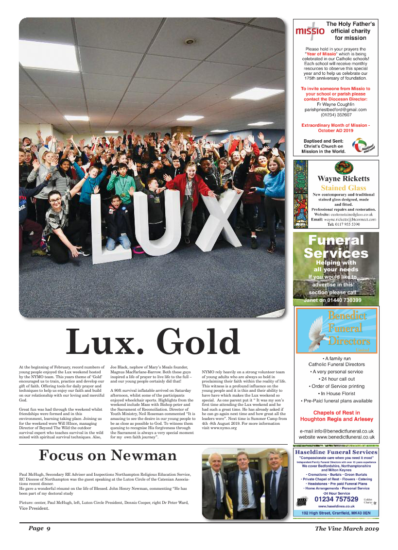 Mar 2019 edition of the The Vine - Northampton - Page