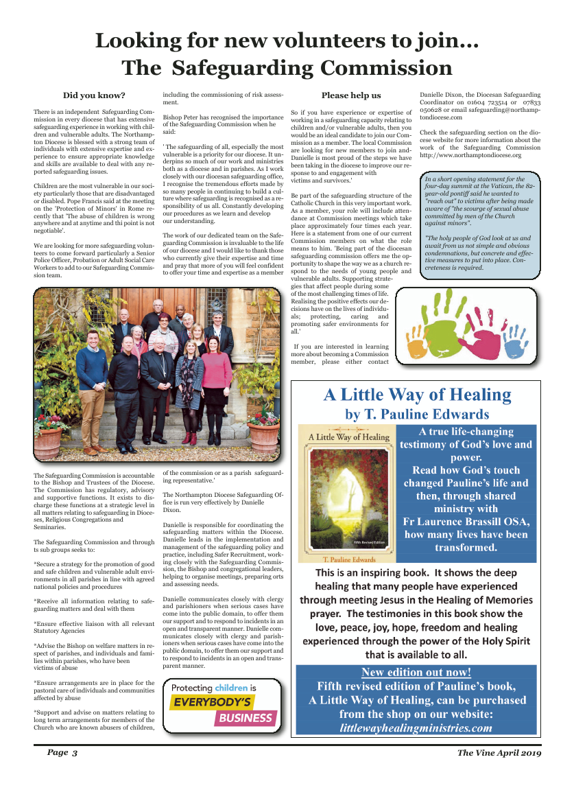 Apr 2019 edition of the The Vine - Northampton - Page
