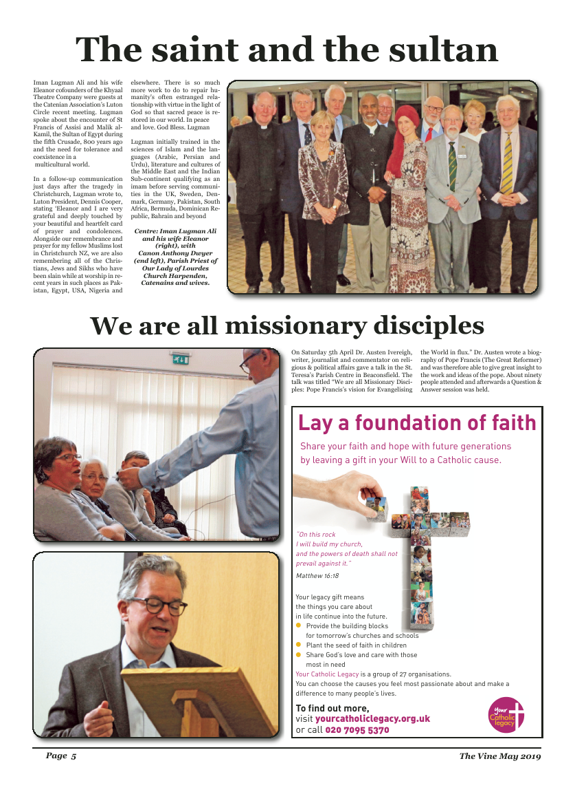 May 2019 edition of the The Vine - Northampton - Page
