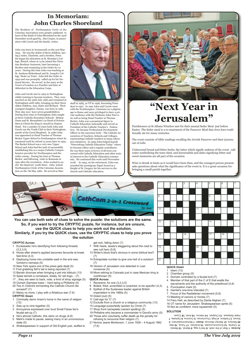Jul 2019 edition of the The Vine - Northampton - Page
