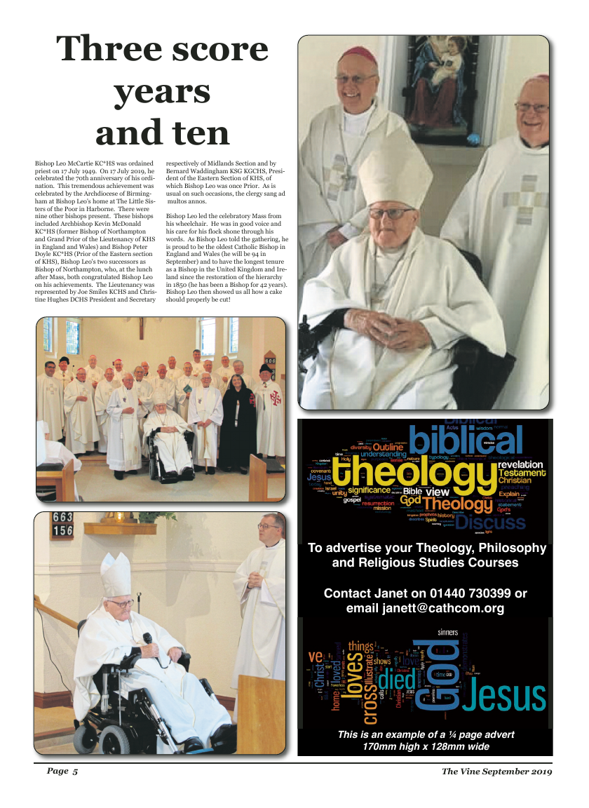 Sept 2019 edition of the The Vine - Northampton - Page