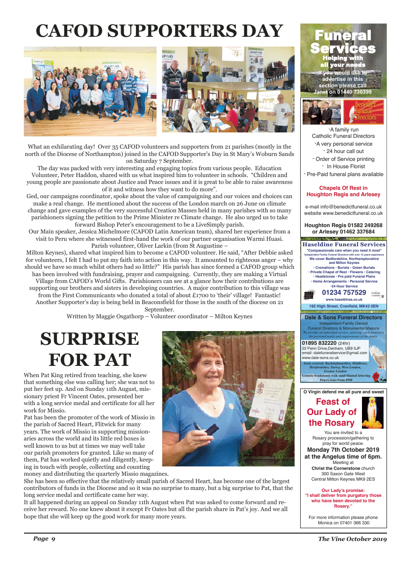 Oct 2019 edition of the The Vine - Northampton - Page