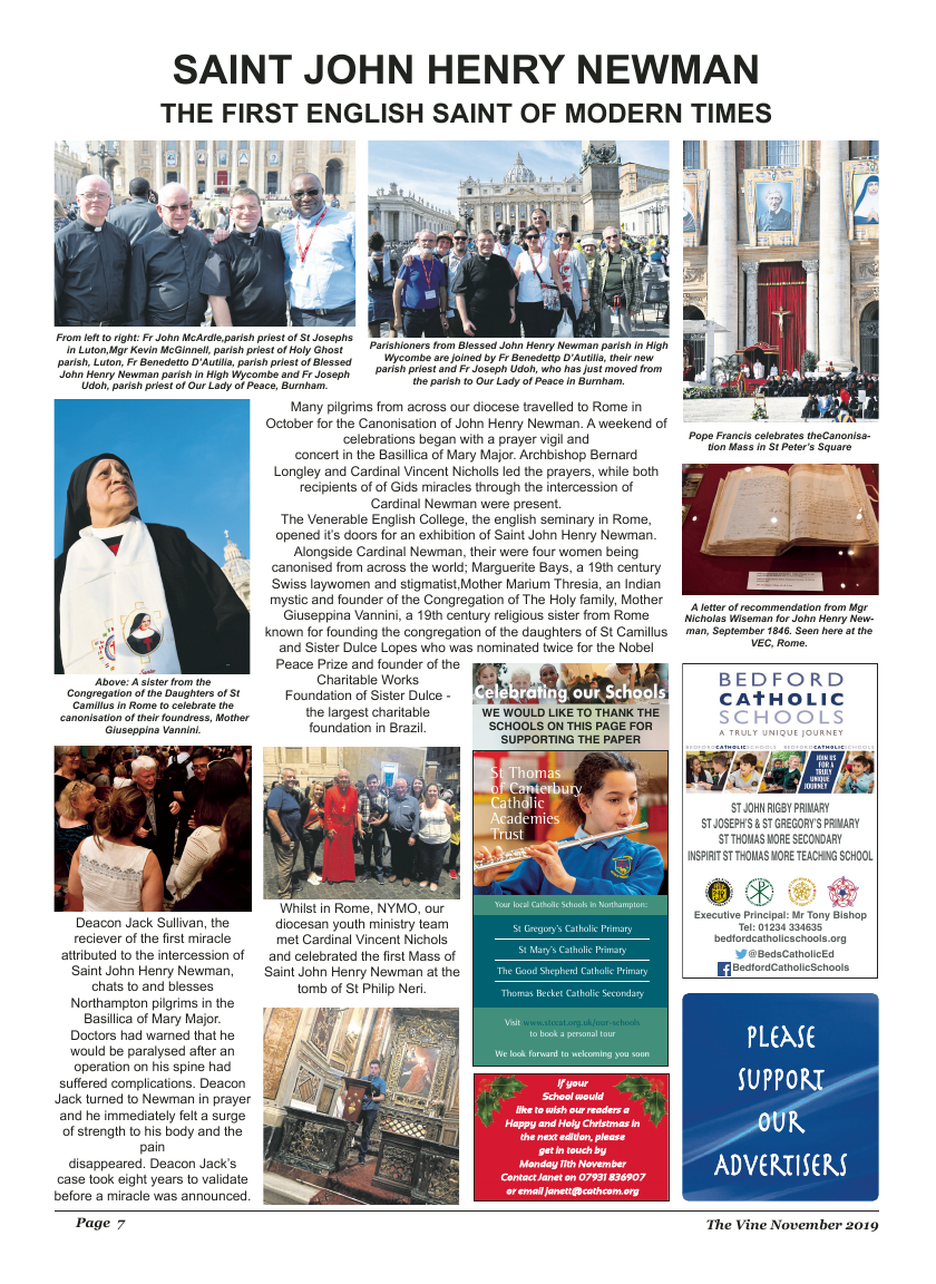 Nov 2019 edition of the The Vine - Northampton - Page