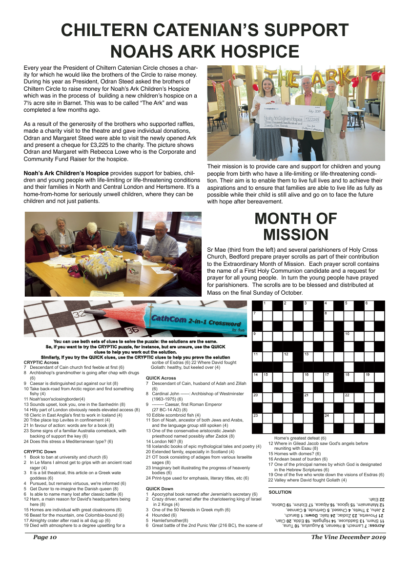 Dec 2019 edition of the The Vine - Northampton - Page