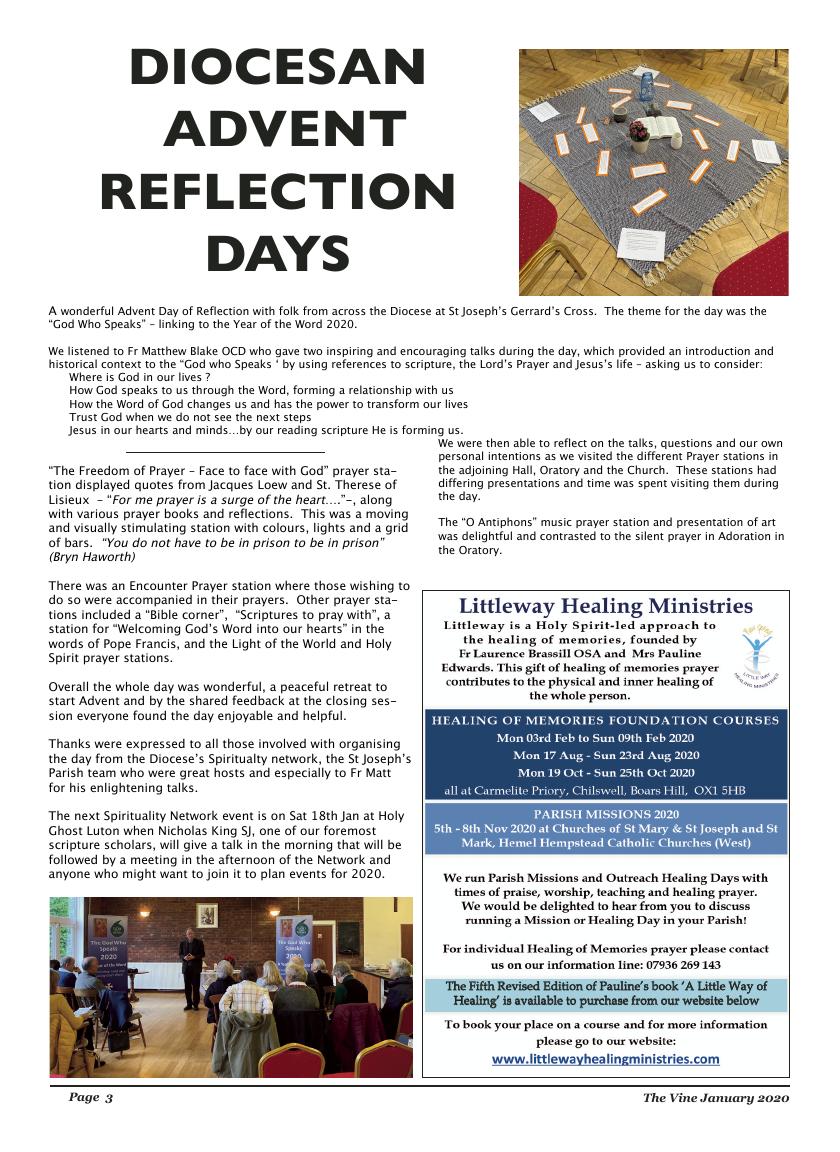 Jan 2020 edition of the The Vine - Northampton