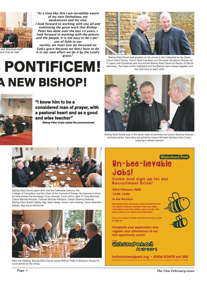 Feb 2020 edition of the The Vine - Northampton