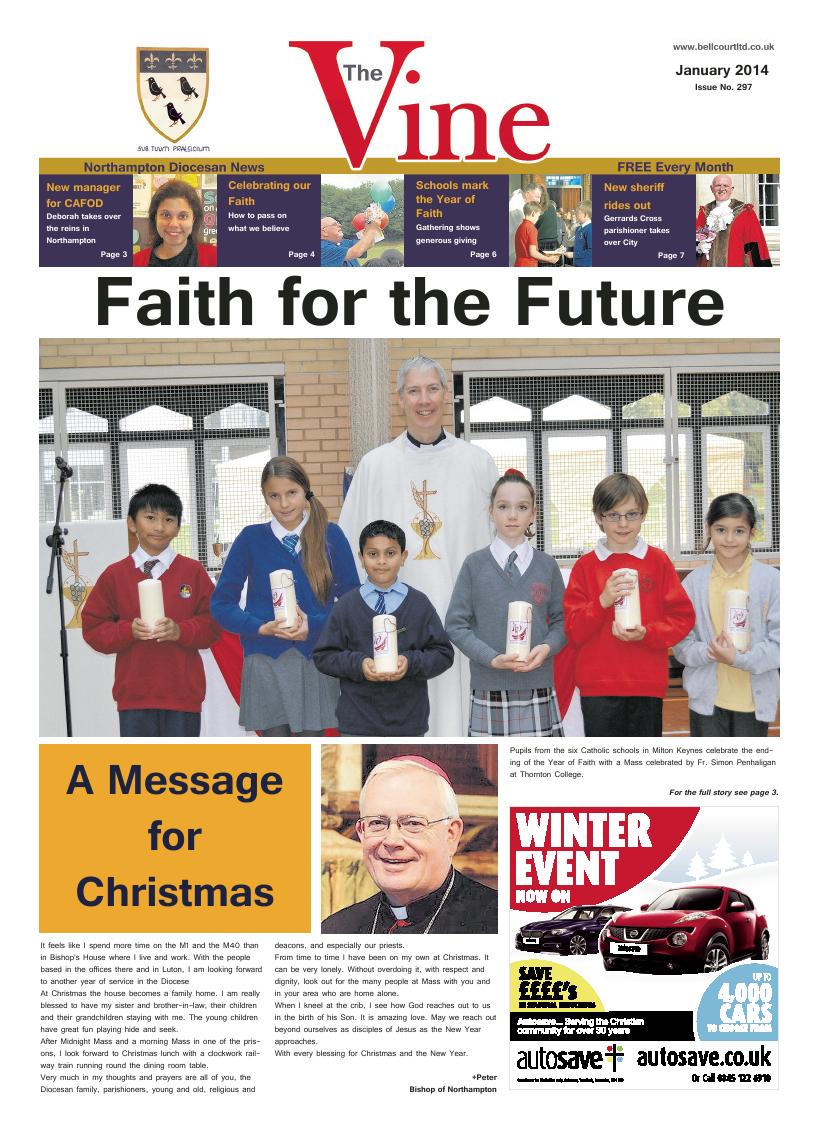 Jan 2014 edition of the The Vine - Northampton